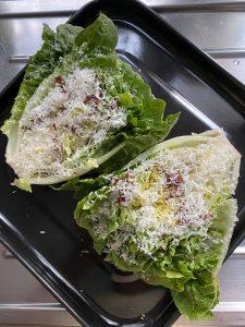 Gegrillter Salat Katis Rezeptgeschichten