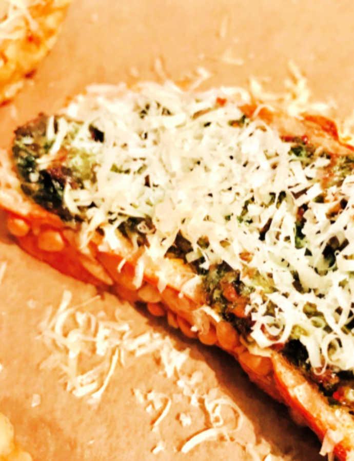 Crostini mit Bärlauchpesto