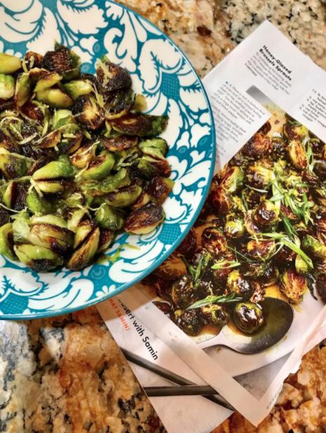 Glasierter Rosenkohl – als Antipasti oder warme Gemüsebeilage