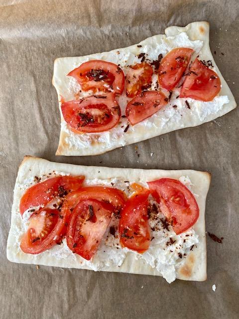 Katis rezeptgeschichten, Pizza Mamas Bruschetta