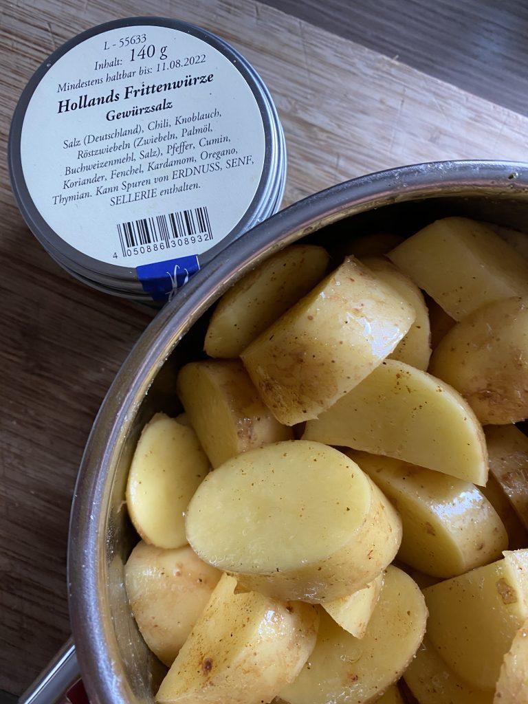 Katis Rezeptgeschichten, Hollands Frittenwürze, schnelle Kartoffel
