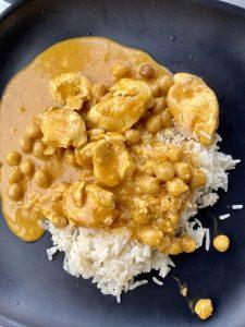 Coconut Curry Simmering Sauce Katis Rezeptegeschichten