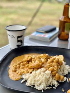 Coconut Curry Simmering Sauce Katis Rezeptgeschichten