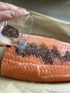 Katis Rezeptgeschichten Lachs aus dem Ofen