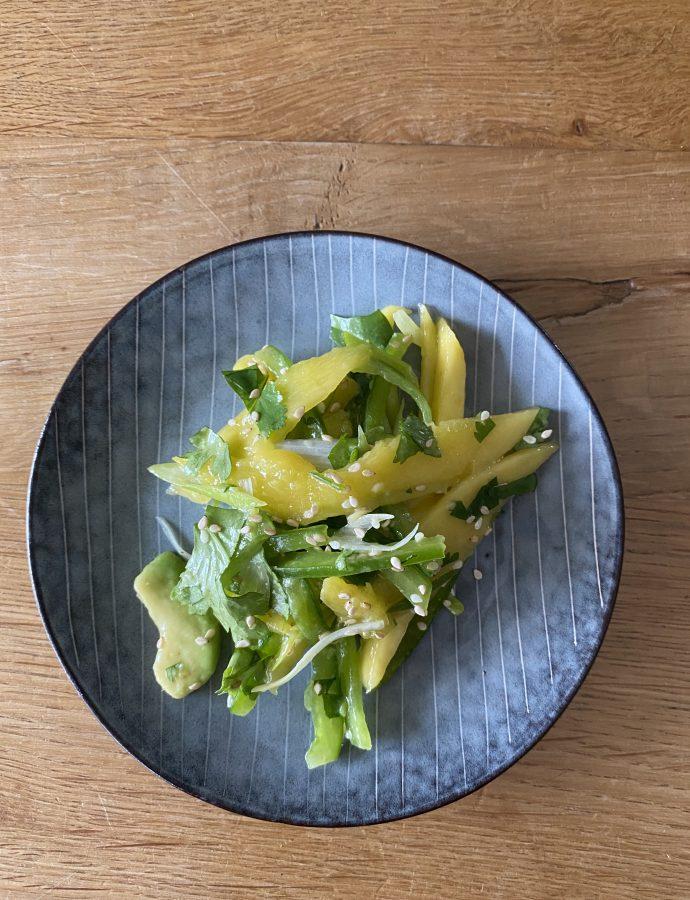 Mango-Avocadosalat